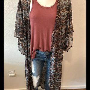 Ladies kimono/duster from Urban Outfitters